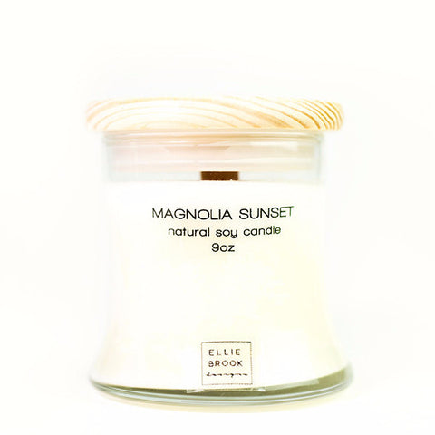 Magnolia Sunset Natural Soy Candle