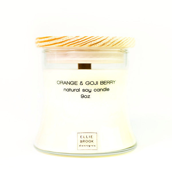 Ellie Brook Orange Goji Berry Soy Candle