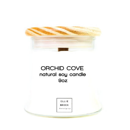 Orchid Cove Natural Soy Candle