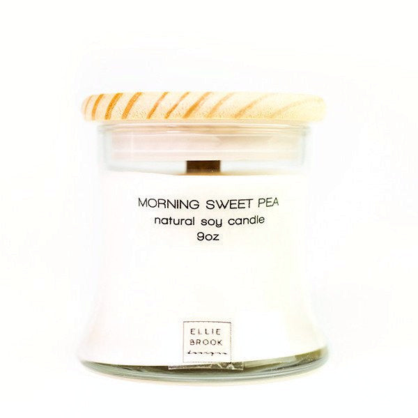 Ellie Brook Morning Sweet Pea Soy Candle
