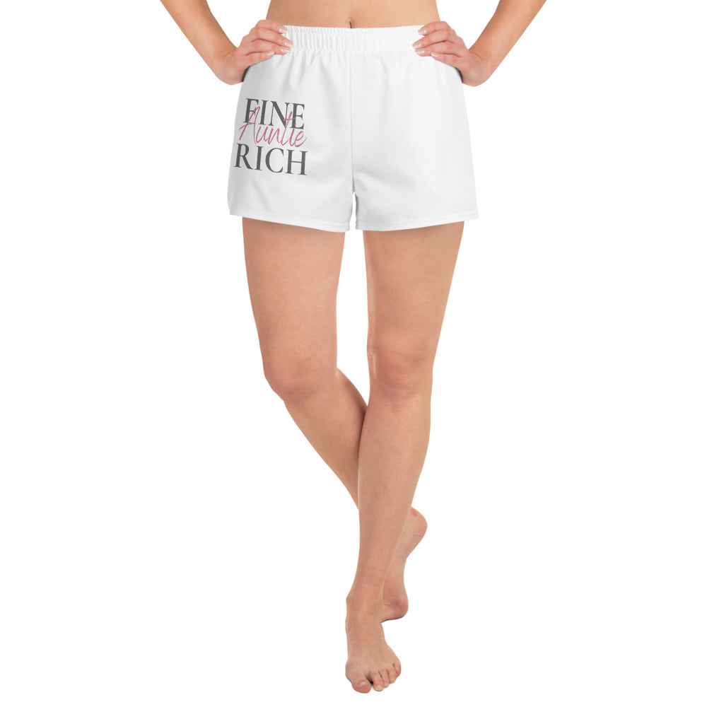 Fine and Rich Women's Athletic Short Shorts