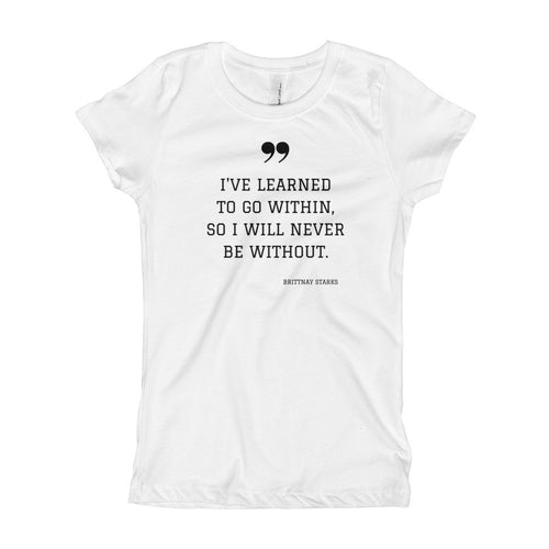 Within Me Girl's T-Shirt