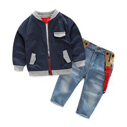 Boys Jacket and Jeans Set