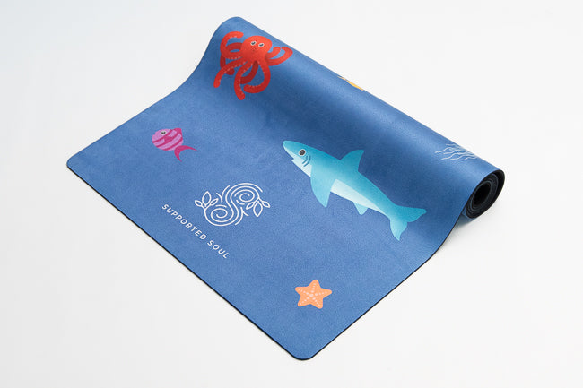 Kids Yoga Mat- Ocean