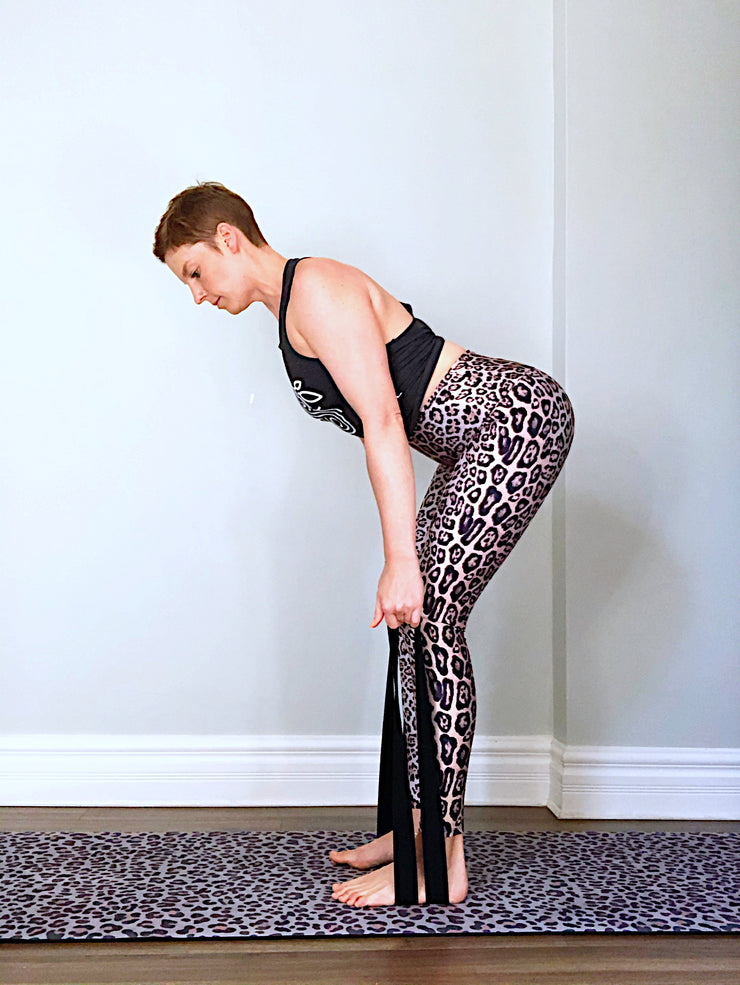 Long fabric exercise band