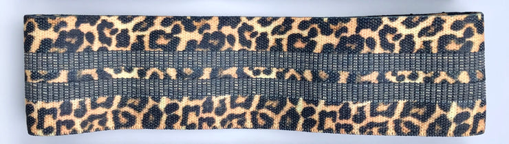 Cheetah Fabric Resistance Bands