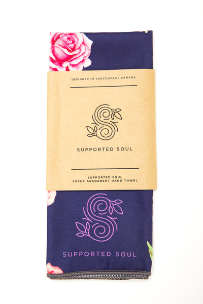 Super Absorbent Sweat Towel -Vintage Rose
