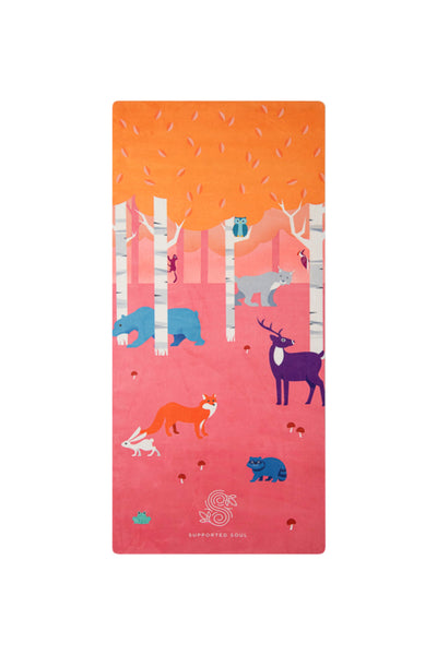 Kids Yoga Mat- Forest