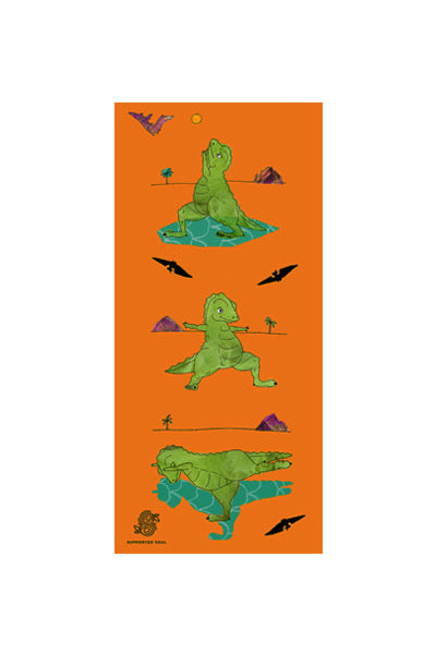 Dino Does Yoga 1mm Travel Mat