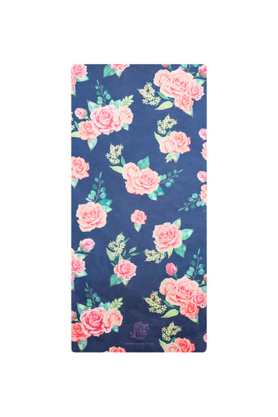 Kids Yoga Mat- Vintage Rose