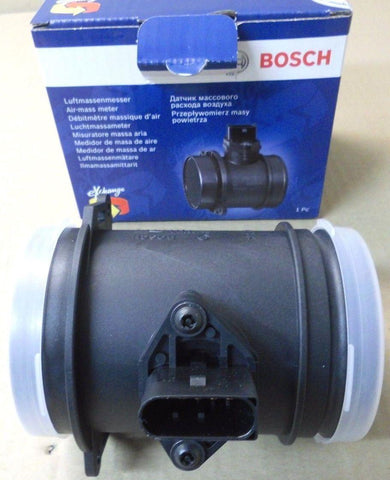 GENUINE Bosch Mass Air Flow Meter MAF Sensor for Audi A6 1998-05 077133471G