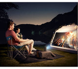 Anker Nebula Capsule Projector | Portable HD-Ready Smart Portable Projector 100 Lumens - Black