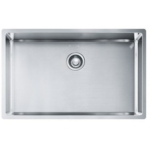 Franke Bow 725 Stainless Steel Single Bowl Sink 725x450 Kitchen Sink - Friendly Kitchen