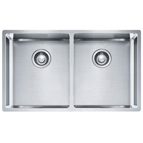 Franke Bow 782 Stainless Steel Double Bowl Sink 782x450 Kitchen Sink - Friendly Kitchen