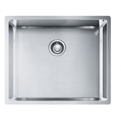 Franke Bow 540 Stainless Steel Single Bowl Sink 540x450 Kitchen Sink - Friendly Kitchen