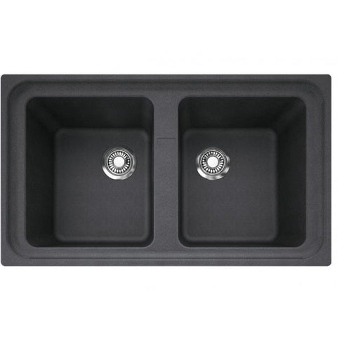 Franke Impact 860 Granite Double Sink 860x500 Kitchen Sink - Friendly Kitchen