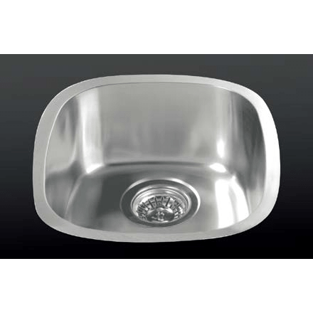 Versastyle Stainless Steel Single Bowl Kitchen Sink, Accessories 350x390x150 Kitchen Sink - Friendly Kitchen