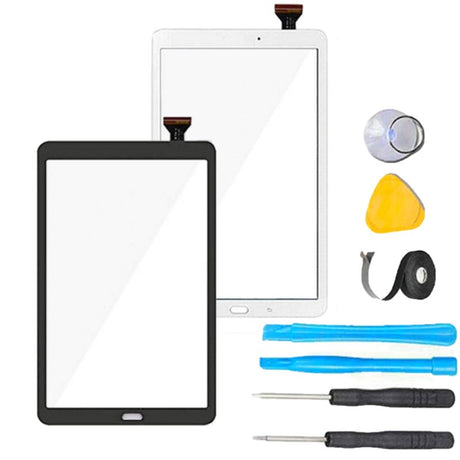 Samsung Galaxy Tab A 10.1 Screen Replacement Glass + Touch Digitizer Replacement Repair Kit T510 T580 T585 T587- Black or White