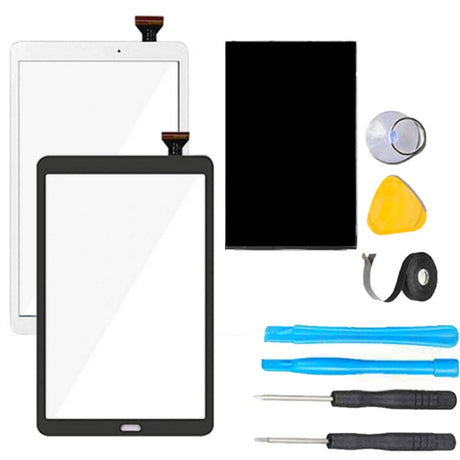 Samsung Galaxy Tab A 10.1 Screen Replacement +Glass LCD + Glass Touch Digitizer Premium Repair Kit - Black or White