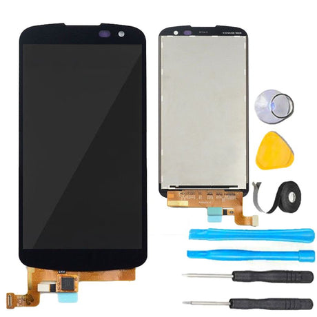 LG K4 (2016) Screen Replacement + LCD + Touch Digitizer Premium Repair Kit K130 k130E - Black