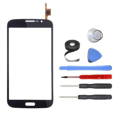 Samsung Galaxy Mega 5.8 Duos i9150 i9152 Glass and Screen Digitizer Replacement Premium Repair Kit - Black