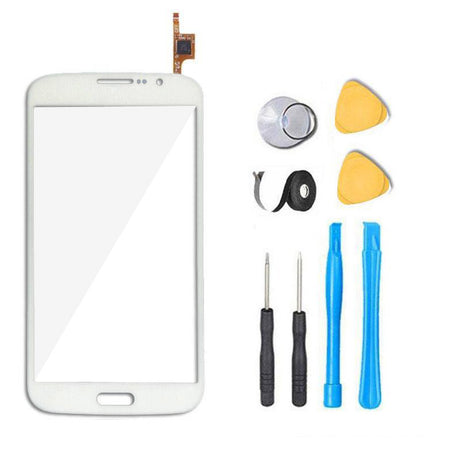 Samsung Galaxy Mega 5.8 Glass and Screen Digitizer Replacement Premium Repair Kit - White