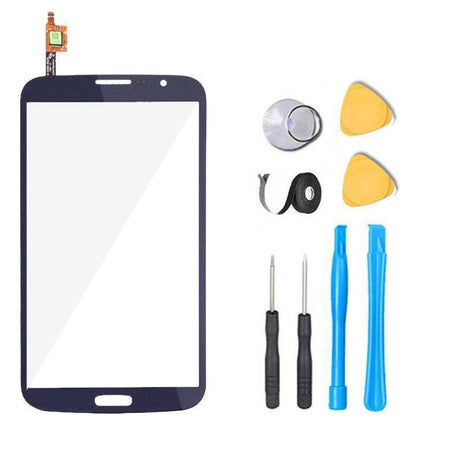 Samsung Galaxy Mega 6.3 Glass and Touchscreen Digitizer Replacement Premium Repair Kit - Blue