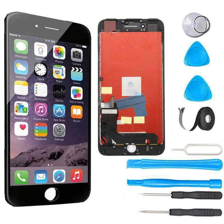 iPhone 7 Plus LCD Screen Replacement and Digitizer Display Premium Repair Kit  - Black