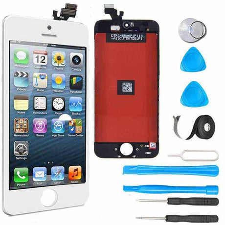 iPhone 5 LCD Screen Replacement and Digitizer Premium Repair Kit - White