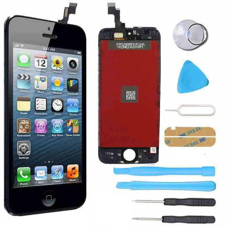 iPhone 5s LCD Screen Replacement and Digitizer Display Premium Repair Kit  - Black