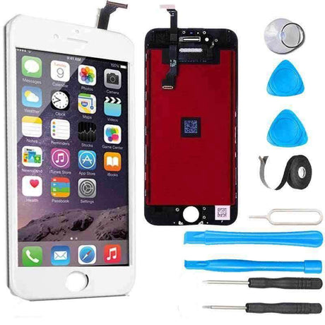 iPhone 6 Plus LCD Screen Replacement and Digitizer Display Premium Repair Kit - White
