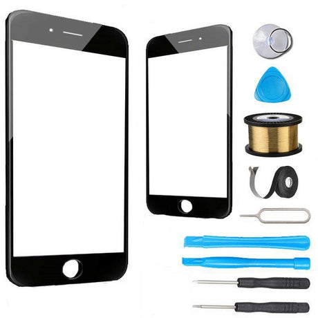 iPhone 6 Glass Screen Replacement Premium Repair Kit - Black