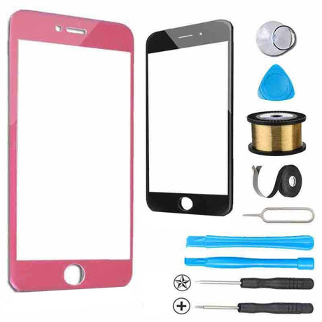 iPhone 6 Glass Screen Replacement Premium Repair Kit - Pink