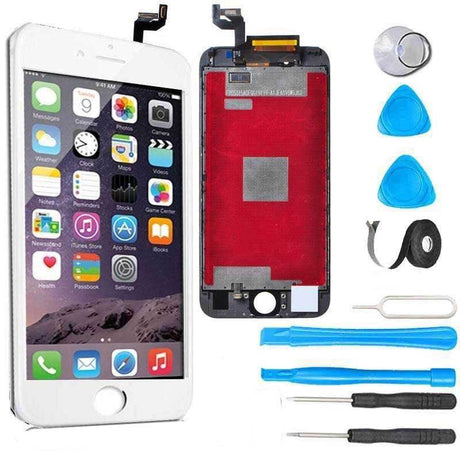 iPhone 6s LCD Screen Replacement and Digitizer Display Premium Repair Kit  + Easy Repair Instructions- White