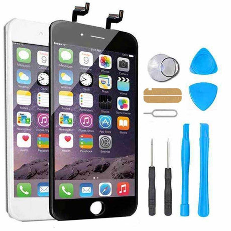 iPhone 6s Plus Screen Replacement + LCD +  Digitizer Display Premium Repair Kit  - Black or White