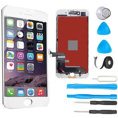 iPhone 7 Plus LCD Screen Replacement and Digitizer Display Premium Repair Kit  - White