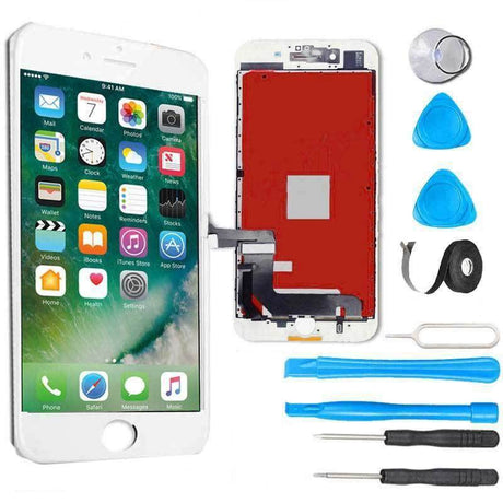 iPhone 7 LCD Screen Replacement and Digitizer Display Premium Repair Kit  - White
