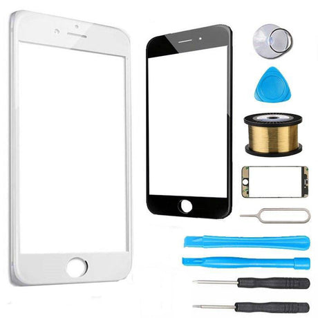iPhone 7 Plus Glass Screen Replacement Premium Repair Kit - White