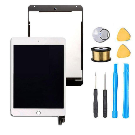 iPAD Mini 4 screen replacement white with tools