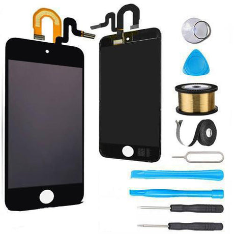 iPod Touch 5 LCD Screen Replacement and Digitizer Display Premium Repair Kit - Black