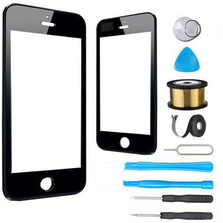 iPod Touch 5 Glass Screen Replacement Premium Repair Kit - Black