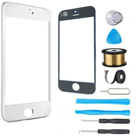 iPod Touch 5 Glass Screen Replacement Premium Repair Kit - White