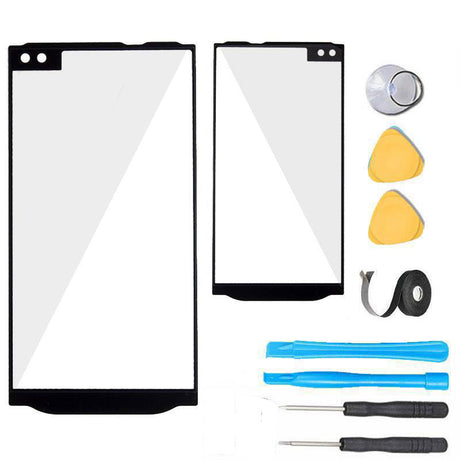 LG V10 Glass Screen Replacement Premium Repair Kit H900 | VS990 | H960 | H901 | H968- Black