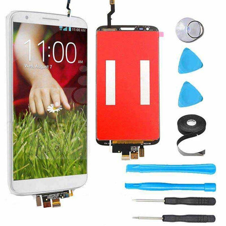 LG G2 LCD Screen Replacement and Digitizer Premium Repair Kit  - White