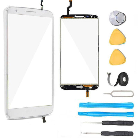 LG G2 Glass Screen Digitizer Replacement Premium Repair Kit - White