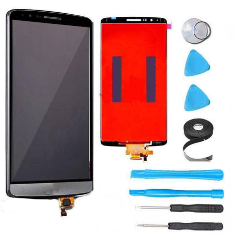 LG G3 LCD Screen Replacement and Digitizer Premium Repair Kit + Easy Repair Instructions - Black