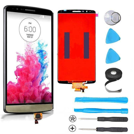LG G3 LCD Screen Replacement and Digitizer Premium Repair Kit  - Gold