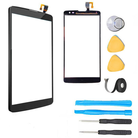 LG G Vista Glass Screen Replacement + Touch Digitizer Premium Repair Kit | D631 | VS880 | F430  - Black