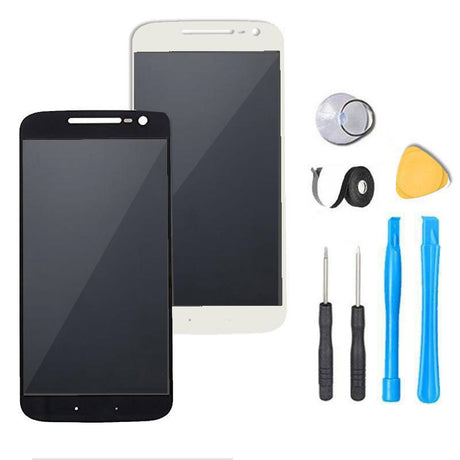 Motorola Moto G4 Plus LCD Screen Replacement + Digitizer Premium Repair Kit LTE XT1641 | XT1642 | XT1643 | XT1644 - Black or White