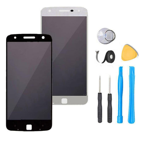 Motorola Moto Z Screen Replacement + LCD + Digitizer Premium Repair Kit XT1650-01 | XT1650-03 - Black or White